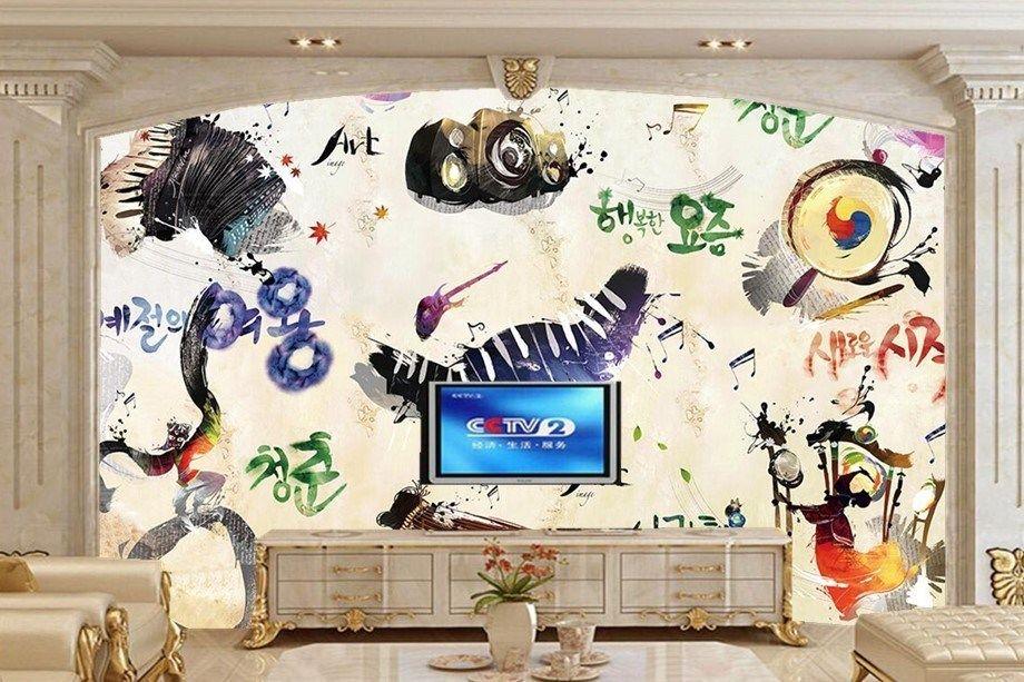 wallpaper memiliki tiga jenis bahan embossed kain sutra katun kanvas gambar 3 membeli sekarang menyelesaikan pembayaran