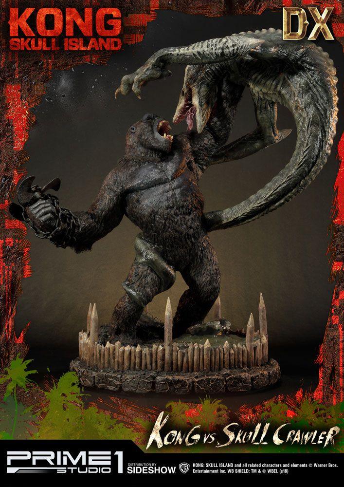 Kong Skull island Poster Power Kong Skull island Kong Vs Skull Crawler Deluxe Version Stat