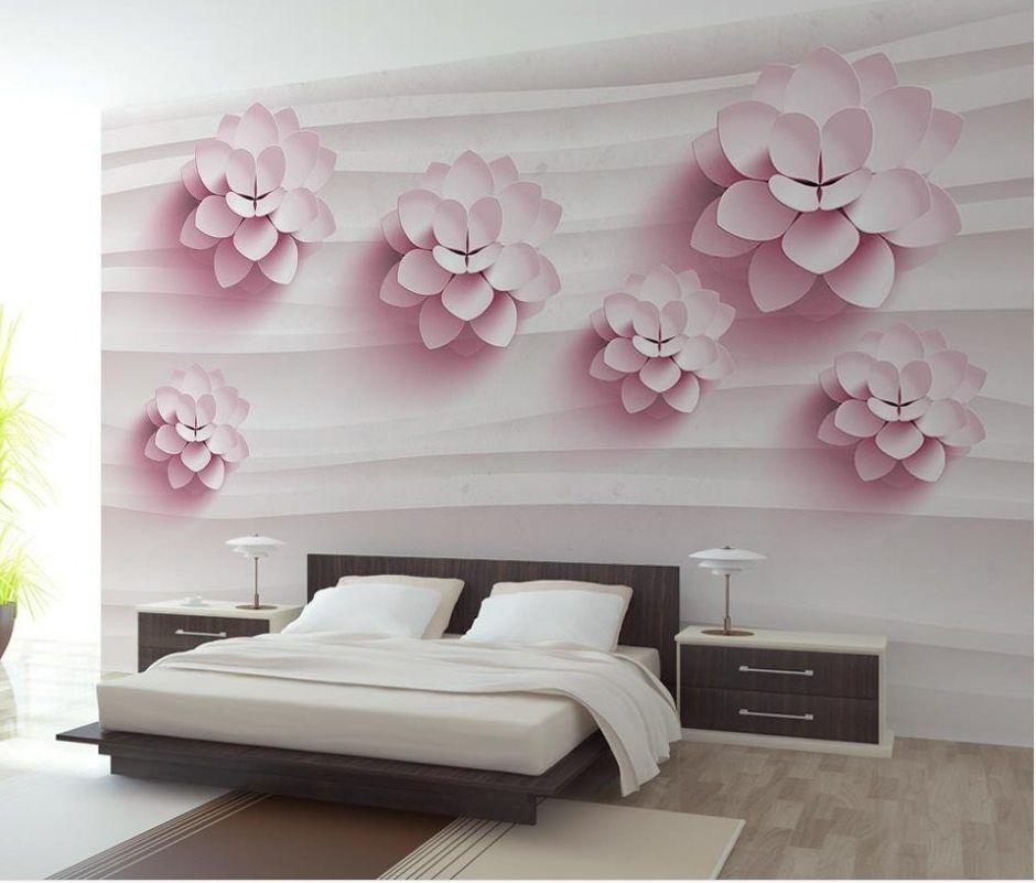 lukisan 4 dimensi di kertas terhebat i kustom 3d mural dinding kertas bunga tiga dimensi besar