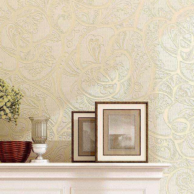 Lukisan 3 Dimensi Sederhana Di Kertas Hebat Modern Sederhana Non Woven Wallpaper Wallpaper Dinding Latar