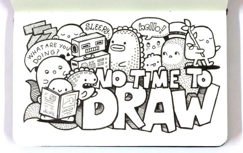 contoh doodle kreasi sendiri