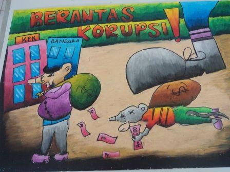 Poster Anti Korupsi Baik Kegiatan Pendidikan Anti Korupsi Sman 4 Kota Tegal
