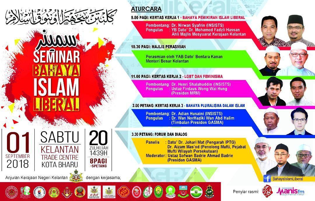 seminar bahaya islam liberal esok
