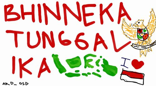 Poster Bhineka Tunggal Ika Berguna Sejarah Terbentuknya Semboyan Bhinneka Tunggal Ika Sekedar Berbagi