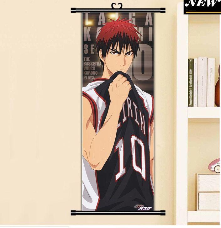 45x125 cm kuroko no basuke basketball kagami taiga olahraga anime kartun gulir gambar dinding mural poster art kain kanvas lukisan