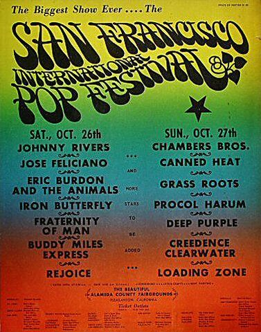 san francisco international pop festival poster rock posters concert posters and vintage posters