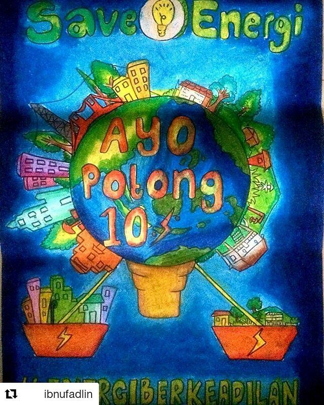 Luar Biasa Poster Hemat Energi Listrik Koleksi Poster