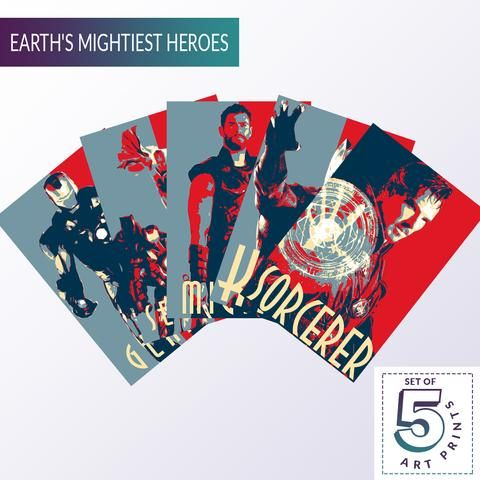 crazy fives earth s mightiest heroes
