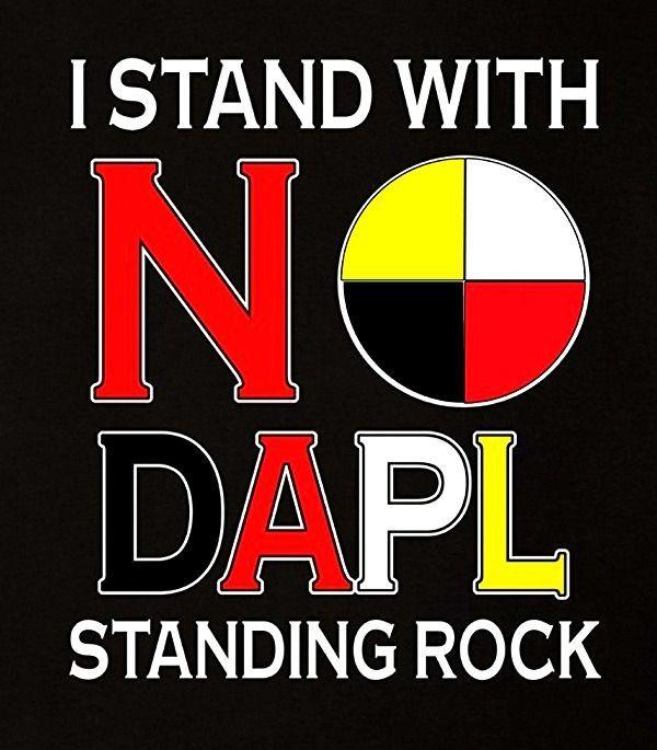 i stand with standing rock nodapl supportstandingrock mniwiconi waterislife waterprotectors defendthesacred istandwithstandingrock