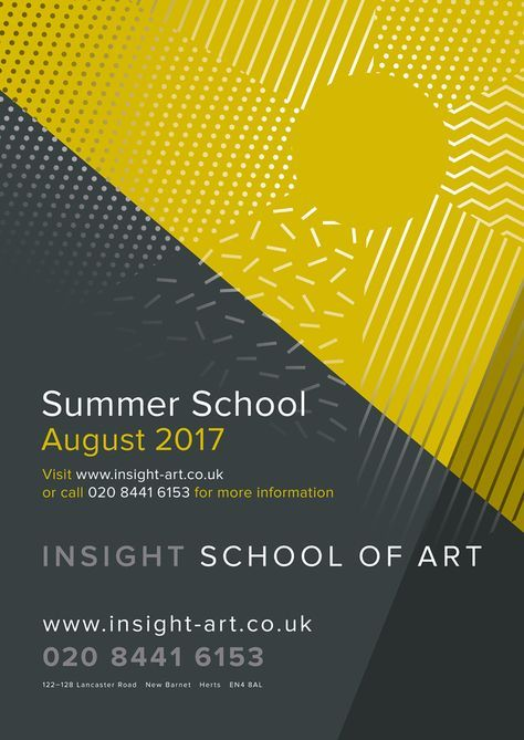 A1 Poster Berguna A1 Poster Design to Promote Summer Art School 2017 at Insight Art Co