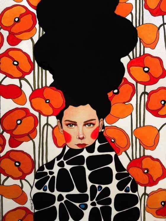 patternprints journal magic patterns into hulya ozdemir s watercolors poster arte di moda moda