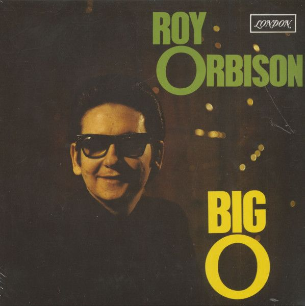 Baby Driver Poster Meletup Roy orbison Lp Big O Stereo Lp 180g Vinyl Bear Family Records