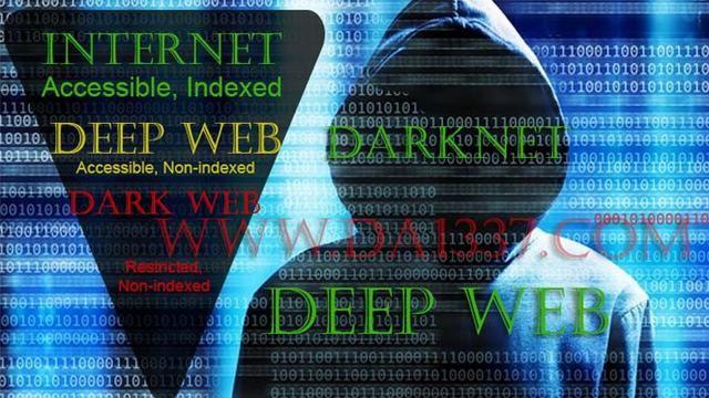 ilustrasi darknet dan deep web