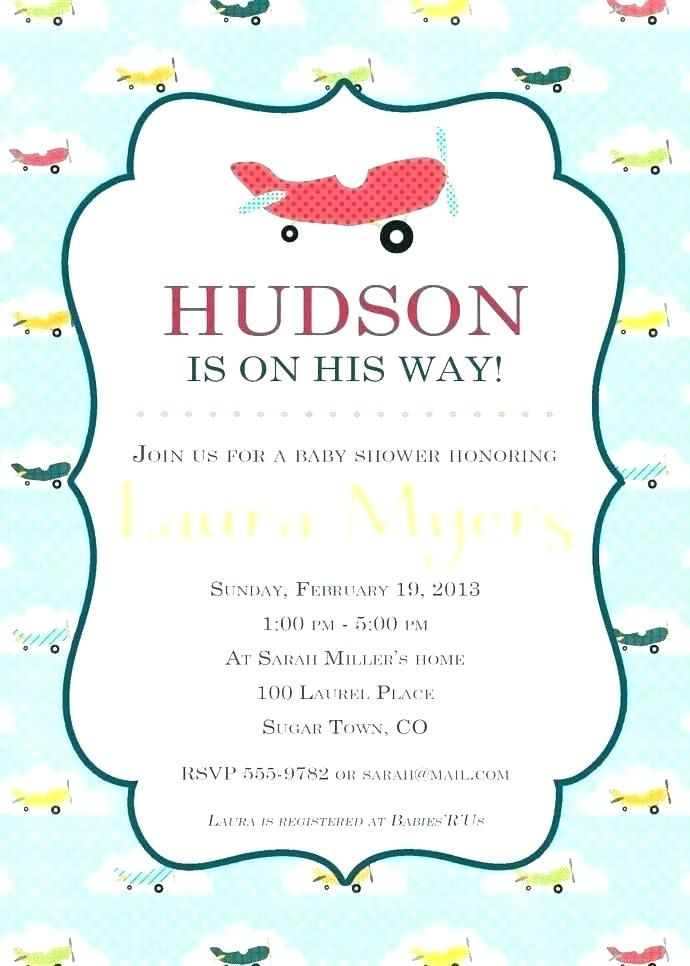 airplane baby shower invitations plus template vintage birthday boarding free maker online create invitation templates
