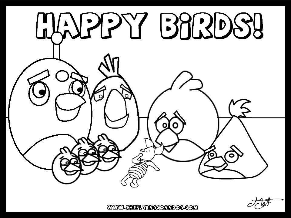 anak anak murid saya tertarik hati dengan gambar angry bird di sini terdapat beberapa keping gambar angry bird colouring templates mungkin sesuai
