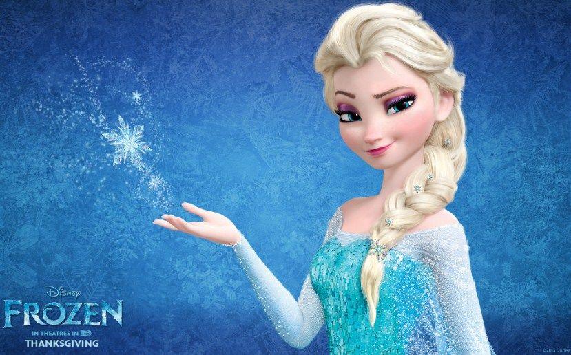 dp gambar kartun frozen