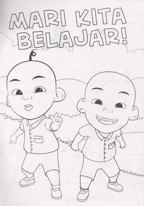 83 coloring upin ipin how to draw upin ipin