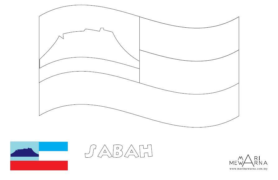 Link Download Himpunan Contoh Gambar Mewarna Bendera Negeri Yang Terhebat Dan Boleh Di Perolehi Dengan Segera Gambar Mewarna