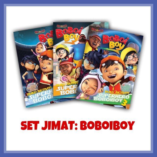 Gambar Mewarna Boboi Boy Meletup Boboiboy Buku Aktiviti Kembara Angkasa Boboiboy Galaxy 3 Shopee