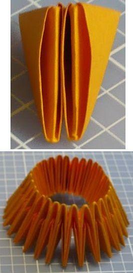 untuk membuat buah nanas dibutuhkan 14 baris duri nanas berarti diperlukan 420 lipatan duri nanas hehehe emang banyak sih tapi kamu bisa ngelipat