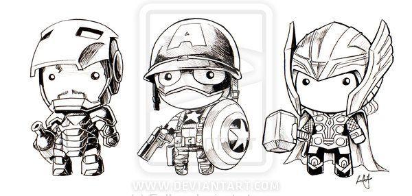Gambar Mewarna Iron Man Berguna Avengers assemble Doll by Faiien On Deviantart Avengers
