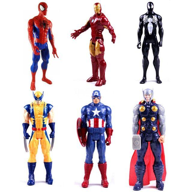 Gambar Mewarna Iron Man Hebat Aliexpress Com Beli 1 Pc 12 Inches Titan Pahlawan Series Wolverine