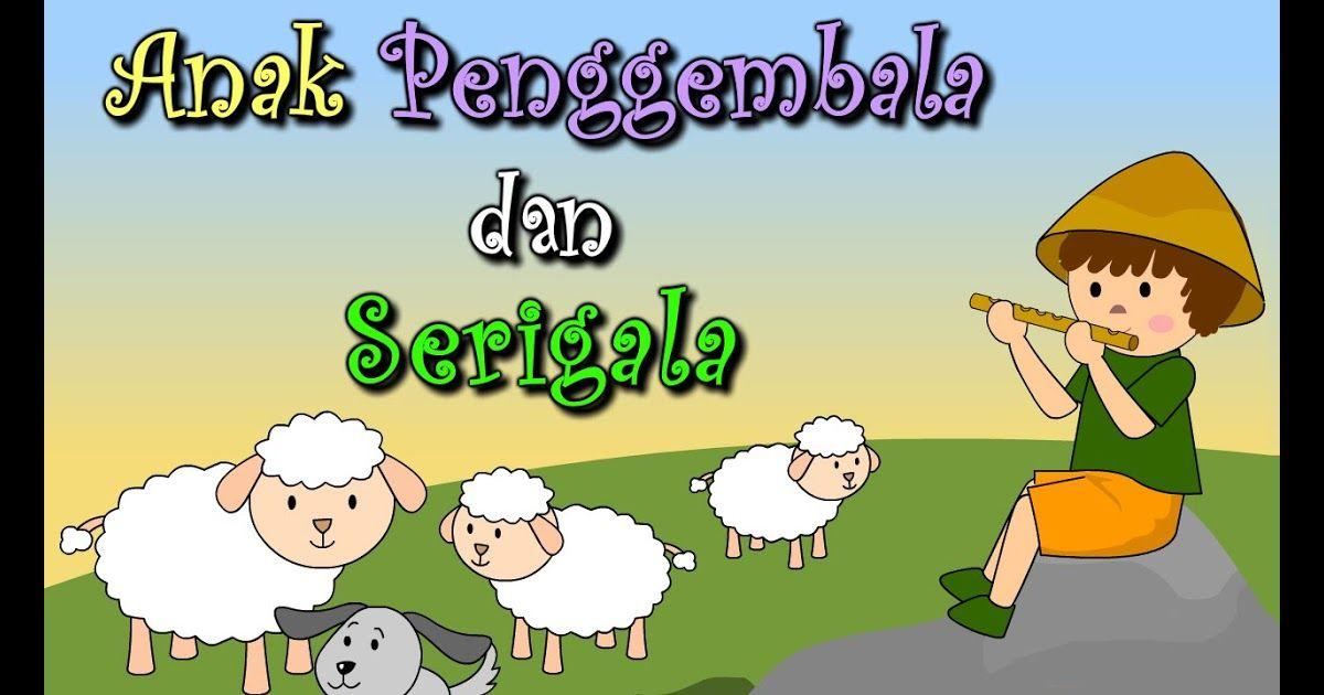 Gambar Mewarna Kambing Biri-biri Baik Gambar Kartun Penggembala Domba Bestkartun
