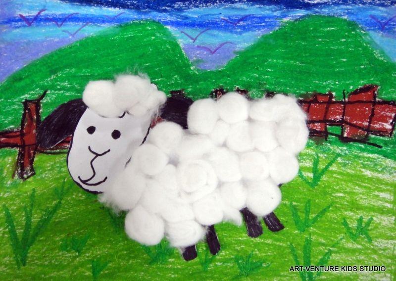 Gambar Mewarna Kambing Biri-biri Terbaik Kelas Seni Dan Kraf Untuk Kanak Kanak Art Venture Kids Studio