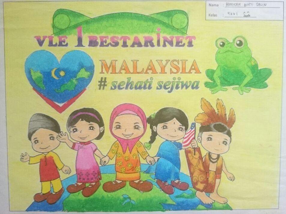 Gambar Mewarna Merdeka 2016 Bermanfaat Smk Dato Bendahara Cm Yusuf Hasil Lukisan Murid Sebelum Dinilai