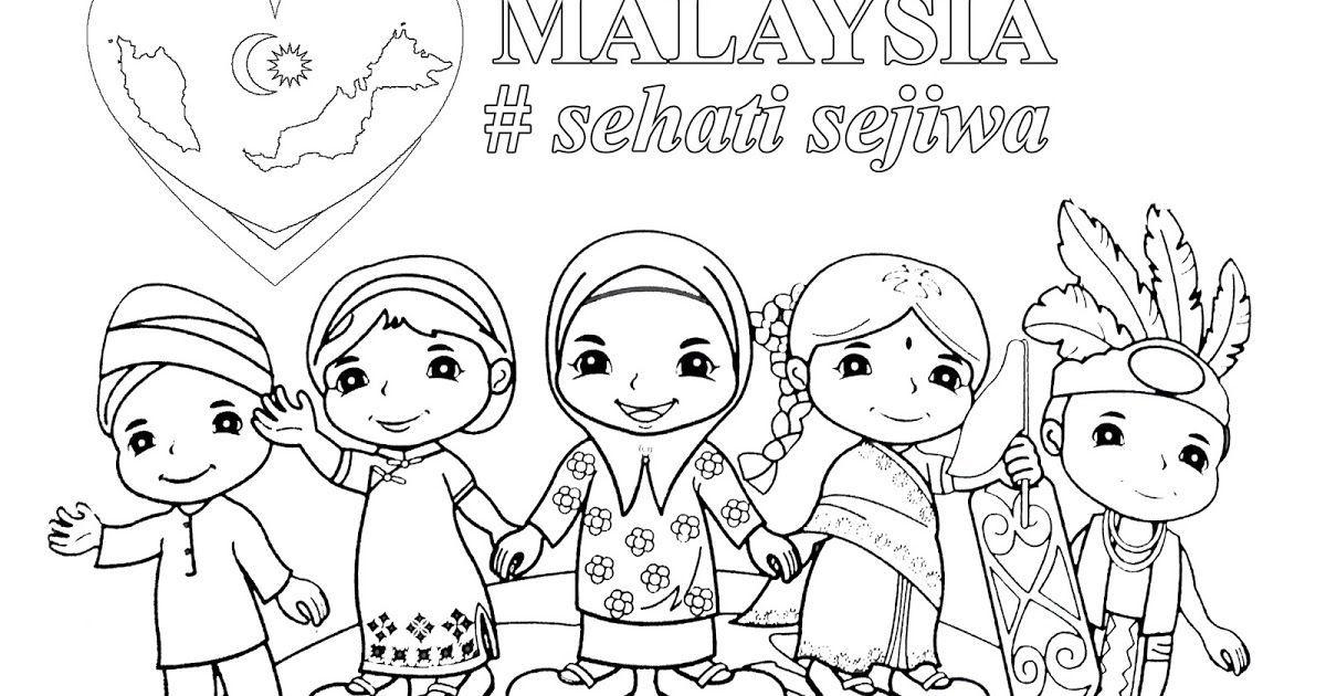 Gambar Mewarna Muslimah Bernilai Mewarnai Bunga Kebangsaan Indonesia Mewarnai Bunga Kebangsaan