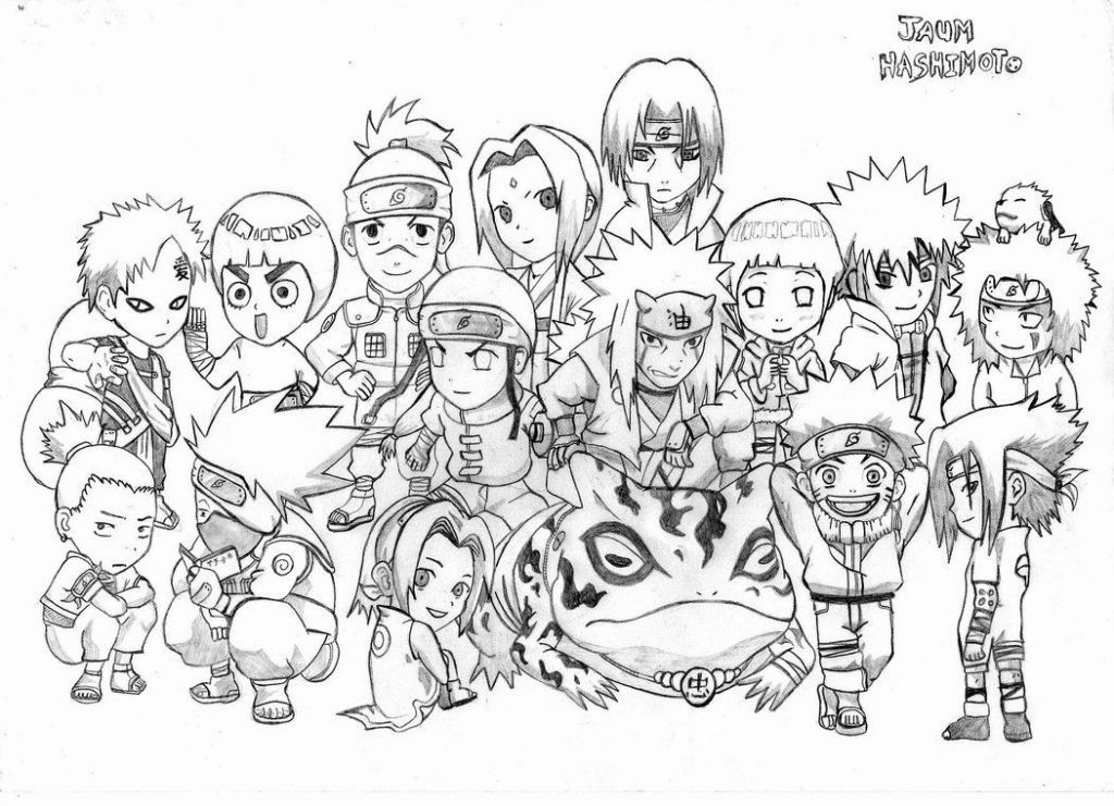 Gambar Mewarna Naruto Terhebat Catatanku Anak Desa Gambar Sasuke Untuk Mewarnai