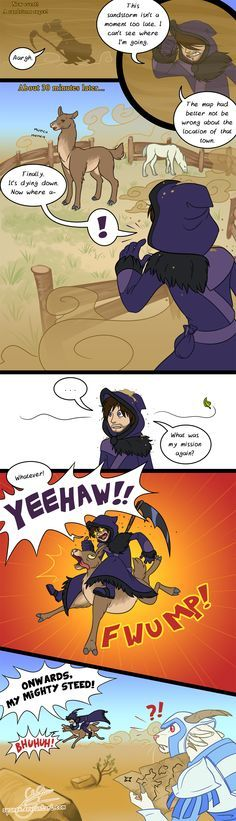 the gw2 llama comic by spanex deviantart com on deviantart guild wars 2
