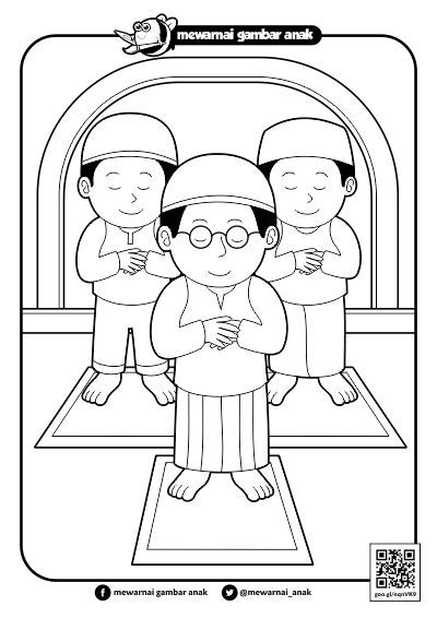 Gambar Orang Sholat Kartun / Hidup Sehat Dengan Sholat ...