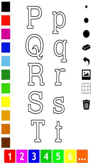 Gambar Mewarna Untuk Kanak Kanak Penting Abc Buku Mewarna Belajar Menulis Abjad Dalam Bahasa Inggeris Di