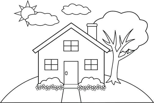 107+ Gambar Rumah Sederhana Di Desa Kartun Gratis