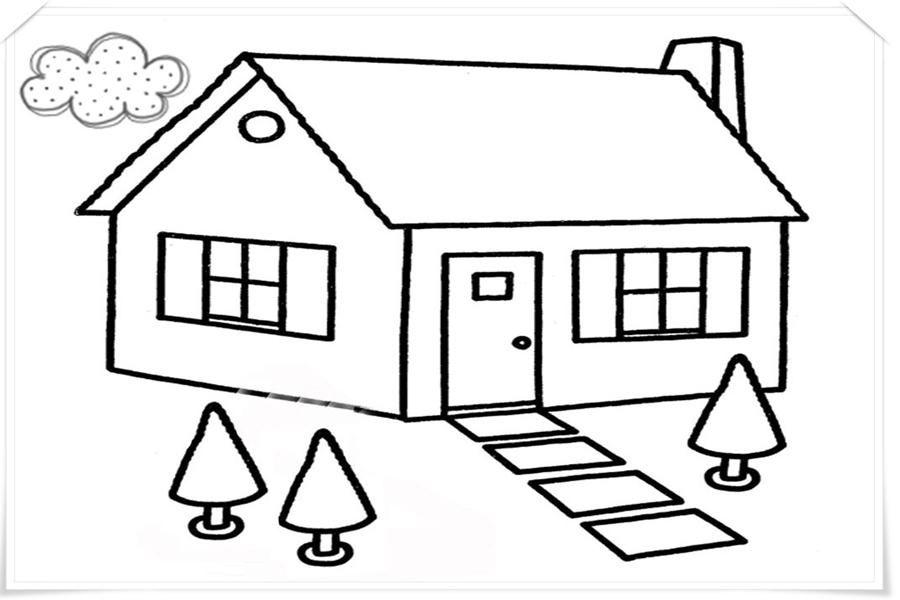 76 Gambar Animasi Rumah Sederhana Paling Bagus