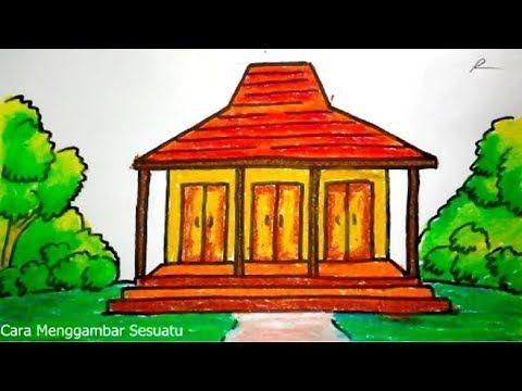 6100 Koleksi Contoh Gambar Rumah Untuk Menggambar HD