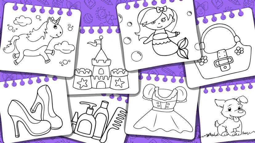 Kertas Lukisan Mewarna Kertas Lukisan Keluarga Saya Bermanfaat Puteri Buku Dan Permainan Mewarna 1 6 Muat Turun Apk Untuk android