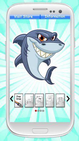Kertas Lukisan Untuk Mewarna Kanak-kanak Power Jerung Buku Mewarna 2 Muat Turun Apk Untuk android Aptoide