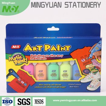 Lukisan 3d Diatas Kertas Meletup Art Diy Lukisan 3d Puffy Glitter Lem Untuk Anak Anak Buy 3d Dicuci