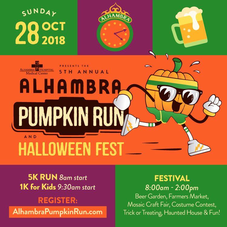 alhambra pumpkin run 2018