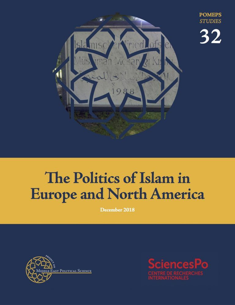 new publication focuses on politics of islam in europe and north america