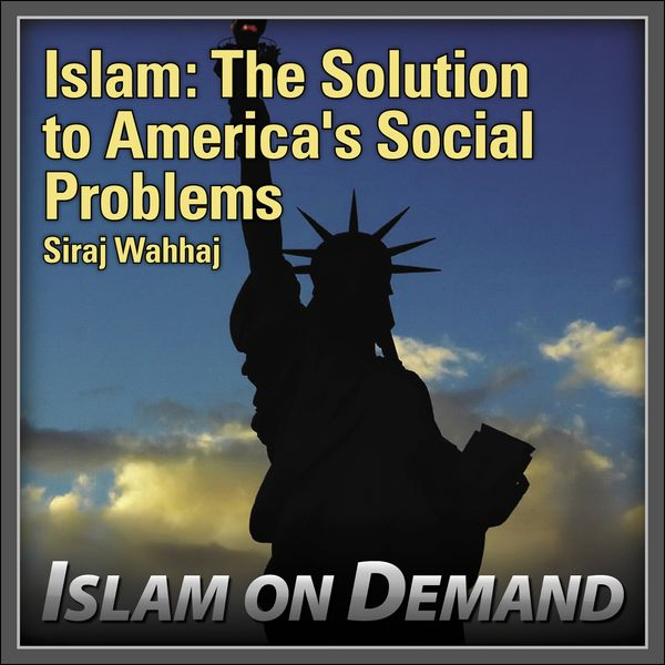 Poster islam Power islam the solution to America S social Problems by Siraj Wahhaj On