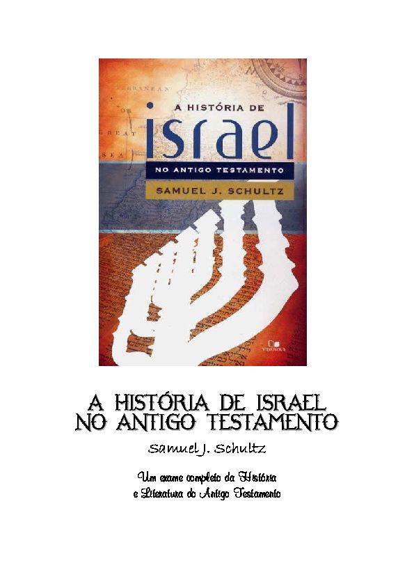 Poster isra Mi'raj Meletup Pdf A Historia De israel No Antigo Testamento Silvano souza