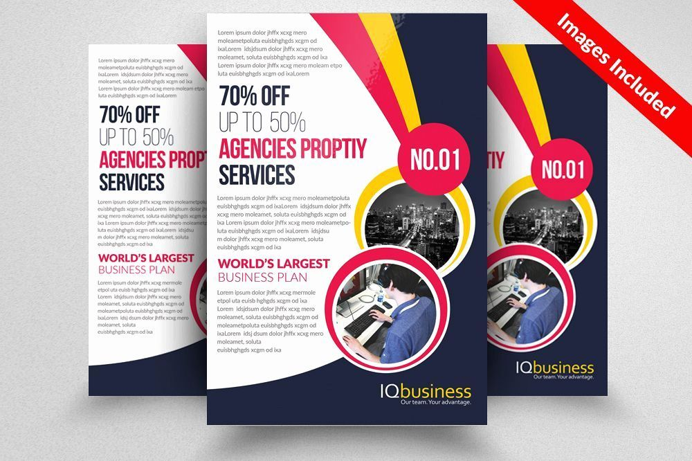 in design flyer templates lovely business cards flyers brochures the flyer poster templates 0d