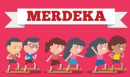 stock illustration on hari merdeka independence day of indonesia flat illustration style illustration