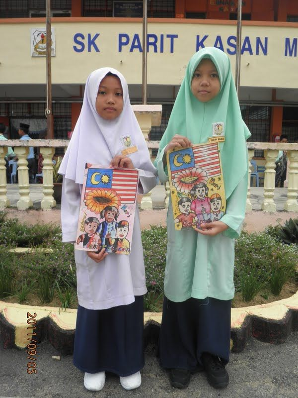 pemenang pertandingan mewarna poster kemerdekaan 2011