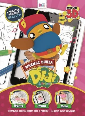 warnai dunia didi friends buku 3d ar