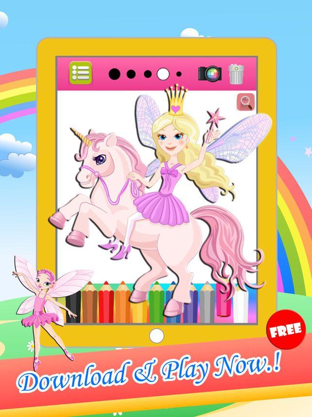 Poster Mewarna Hari Sukan Negara Penting Pony Puteri Mewarnai Lukisan Untuk Perempuan Kanak Di App Store