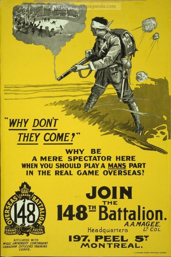 Propaganda Poster Power Wwi Canadian Propaganda Propaganda Poster Pinterest Ww1